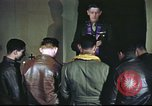 Image of Chaplain with B-17 Aircrew members United Kingdom, 1943, second 14 stock footage video 65675061393
