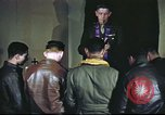 Image of Chaplain with B-17 Aircrew members United Kingdom, 1943, second 15 stock footage video 65675061393