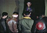 Image of Chaplain with B-17 Aircrew members United Kingdom, 1943, second 16 stock footage video 65675061393