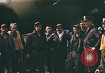 Image of B-17 Flying Fortress bomber crew United Kingdom, 1943, second 4 stock footage video 65675061414