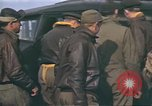 Image of B-17 Flying Fortress bomber crew United Kingdom, 1943, second 28 stock footage video 65675061414