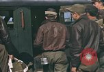Image of B-17 Flying Fortress bomber crew United Kingdom, 1943, second 32 stock footage video 65675061414