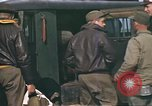 Image of B-17 Flying Fortress bomber crew United Kingdom, 1943, second 35 stock footage video 65675061414