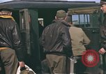 Image of B-17 Flying Fortress bomber crew United Kingdom, 1943, second 36 stock footage video 65675061414