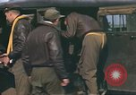 Image of B-17 Flying Fortress bomber crew United Kingdom, 1943, second 40 stock footage video 65675061414