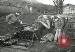 Image of 5th Army gun crew Cassino Italy, 1944, second 50 stock footage video 65675061462