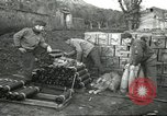 Image of 5th Army gun crew Cassino Italy, 1944, second 52 stock footage video 65675061462