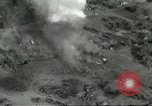Image of bomb explosions Cassino Italy, 1944, second 8 stock footage video 65675061475