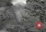 Image of bomb explosions Cassino Italy, 1944, second 13 stock footage video 65675061475
