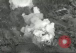 Image of bomb explosions Cassino Italy, 1944, second 29 stock footage video 65675061475