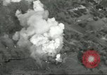 Image of bomb explosions Cassino Italy, 1944, second 32 stock footage video 65675061475