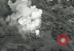 Image of bomb explosions Cassino Italy, 1944, second 33 stock footage video 65675061475