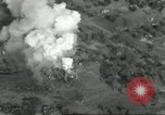 Image of bomb explosions Cassino Italy, 1944, second 34 stock footage video 65675061475