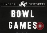 Image of college football game Miami Florida USA, 1944, second 1 stock footage video 65675061498