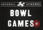 Image of college football game Miami Florida USA, 1944, second 2 stock footage video 65675061498