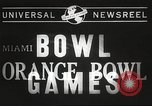 Image of college football game Miami Florida USA, 1944, second 4 stock footage video 65675061498