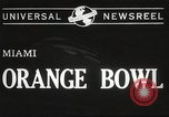 Image of college football game Miami Florida USA, 1944, second 5 stock footage video 65675061498