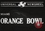 Image of college football game Miami Florida USA, 1944, second 6 stock footage video 65675061498