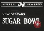 Image of college football game New Orleans Louisiana USA, 1944, second 3 stock footage video 65675061499