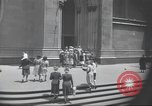 Image of church New York City USA, 1944, second 15 stock footage video 65675061505