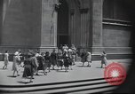 Image of church New York City USA, 1944, second 28 stock footage video 65675061505