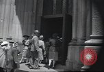Image of church New York City USA, 1944, second 42 stock footage video 65675061505