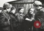 Image of prisoners Poland, 1945, second 4 stock footage video 65675061517
