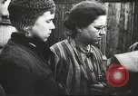 Image of prisoners Poland, 1945, second 15 stock footage video 65675061517