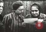 Image of prisoners Poland, 1945, second 16 stock footage video 65675061517