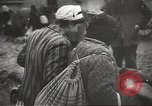 Image of prisoners Poland, 1945, second 26 stock footage video 65675061517