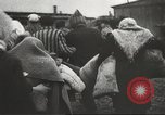 Image of prisoners Poland, 1945, second 34 stock footage video 65675061517
