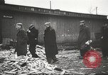 Image of prisoners Poland, 1945, second 37 stock footage video 65675061517