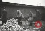 Image of prisoners Poland, 1945, second 42 stock footage video 65675061517