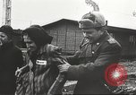 Image of prisoners Poland, 1945, second 52 stock footage video 65675061517