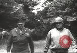 Image of Dwight Eisenhower Normandy France, 1944, second 7 stock footage video 65675061527