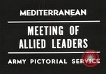 Image of Malta Conference and Yalta Conference scenes in World War II Europe, 1945, second 27 stock footage video 65675061633