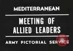 Image of Malta Conference and Yalta Conference scenes in World War II Europe, 1945, second 29 stock footage video 65675061633
