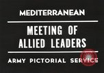 Image of Malta Conference and Yalta Conference scenes in World War II Europe, 1945, second 31 stock footage video 65675061633
