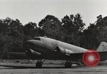 Image of C-47 aircraft Burma, 1944, second 22 stock footage video 65675061653