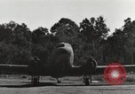Image of C-47 aircraft Burma, 1944, second 25 stock footage video 65675061653