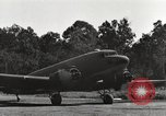 Image of C-47 aircraft Burma, 1944, second 28 stock footage video 65675061653