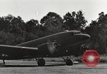 Image of C-47 aircraft Burma, 1944, second 29 stock footage video 65675061653