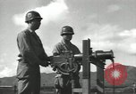Image of United States Army preparation training drills in Cold War United States USA, 1956, second 38 stock footage video 65675061673