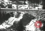 Image of United States soldiers blow up a bridge Europe, 1954, second 23 stock footage video 65675061680