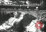 Image of United States soldiers blow up a bridge Europe, 1954, second 27 stock footage video 65675061680