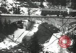 Image of United States soldiers blow up a bridge Europe, 1954, second 34 stock footage video 65675061680