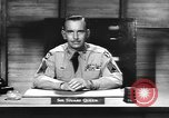 Image of Captain Audie Murphy of 36th Division Texas National Guard Korea, 1950, second 54 stock footage video 65675061702