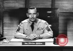 Image of Captain Audie Murphy of 36th Division Texas National Guard Korea, 1950, second 55 stock footage video 65675061702