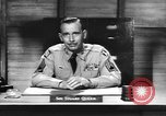 Image of Captain Audie Murphy of 36th Division Texas National Guard Korea, 1950, second 56 stock footage video 65675061702