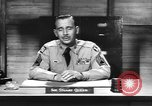 Image of Captain Audie Murphy of 36th Division Texas National Guard Korea, 1950, second 59 stock footage video 65675061702